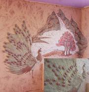художественная роспись стен рельфно-декоративная— Брянск - foto 0